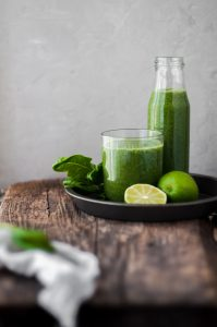 slow juicer green juice