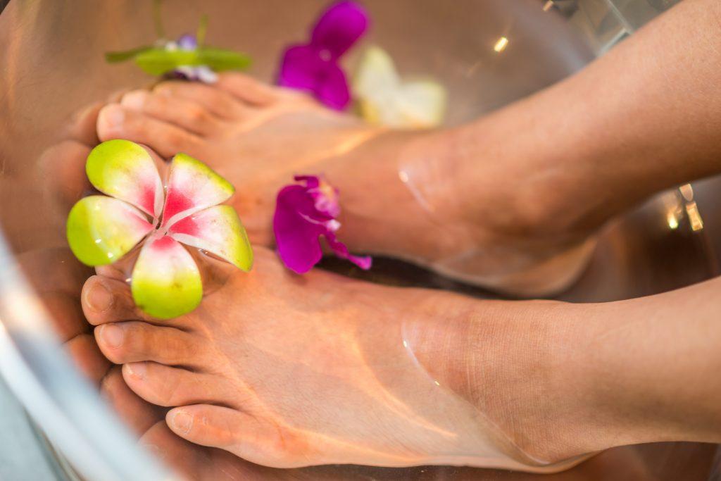 voetenbad pedicure