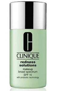 clinique make-up tegen roodheid