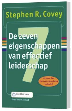 de 7 eigenschappen van effectief leiderschap boek
