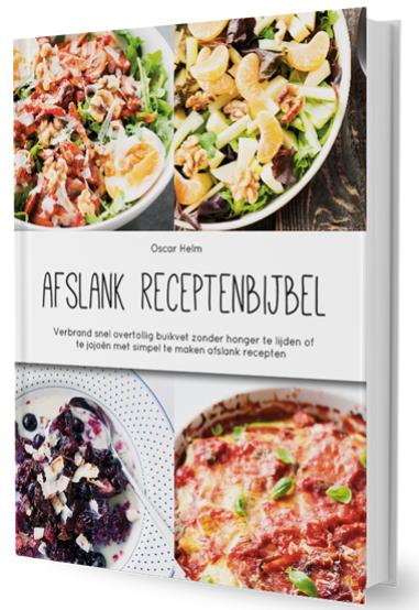 receptenbijbel boeken om af te vallen