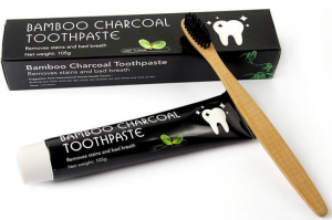 tandenpasta houtskool