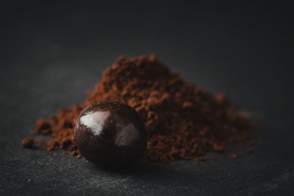 cacao poeder gezichtsmasker