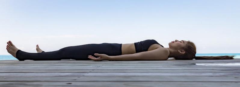 yoga nidra pose